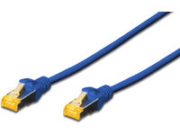 MicroConnect S/FTP CAT6A 0.5M Blue Snagless LSZH, Full copper AWG27 SFTP6A005BBOOTED - eet01