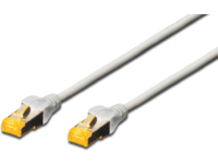 MicroConnect S/FTP CAT6A 0.25m Grey LSZH With Snaggless, AWG 26/7 SFTP6A0025BOOTED - eet01
