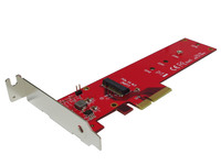 Lycom PCIe 3.0 x4 3.3V5A Host Adapter for PCIe-NVMe DT-129 - eet01