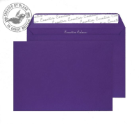 347 Blake Creative Colour Blackcurrant Peel & Seal Wallet 162X229mm 120Gm2 Pack 500 Code 347 3P- 347