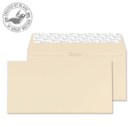 61255 Blake Premium Business Cream Wove Peel & Seal Wallet 110X220mm 120Gm2 Pack 50 Code 61255 3P- 61255