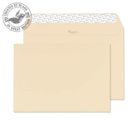 61454 Blake Premium Business Cream Wove Peel & Seal Wallet 162X229mm 120Gm2 Pack 25 Code 61454 3P- 61454