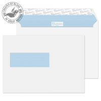 34266NL Blake Premium Office Ultra White Wove Window Peel & Seal Wallet 162X229mm 120G Pk500 Code 34266Nl 3P- 34266NL
