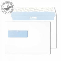 34286NR Blake Premium Office Ultra White Wove Window Peel & Seal Wallet 162X229mm 120G Pk500 Code 34286Nr 3P- 34286NR