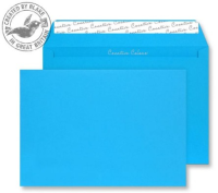 310 Blake Creative Colour Caribbean Blue Peel & Seal Wallet 162X229mm 120Gm2 Pack 500 Code 310 3P- 310