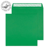 608 Blake Creative Colour Avocado Green Peel & Seal Square Wallet 160X160mm 120Gm2 Pack 500 Code 608 3P- 608