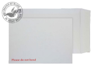 6112 Blake Purely Packaging White Peel & Seal Board Back Pocket 241X178mm 120Gm2 Pack 125 Code 6112 3P- 6112