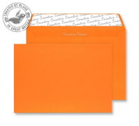 305 Blake Creative Colour Pumpkin Orange Peel & Seal Wallet 162X229mm 120Gm2 Pack 500 Code 305 3P- 305