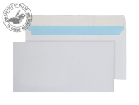FSC064 Blake Purely Environmental White Peel & Seal Wallet 110X220mm 110Gm2 Pack 500 Code Fsc064 3P- FSC064
