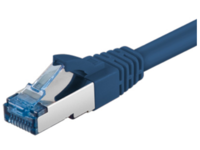 MicroConnect S/FTP CAT6A 1M Blue LSZH PIMF( Pairs in metal foil) SFTP6A01B - eet01