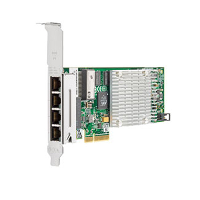 Hewlett Packard Enterprise Hpe Nc375t - Network Adapter - Pcie 2.0 X4 Low Profile - Gigabit Ethernet X 4 - For Proliant Dl120 G7  Dl165 G7  Dl360 G7  Dl370 G6  Dl380 G6  Dl380 G7  Dl385 G6  Ml370 G6 538696-b21 - xep01