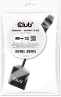 Club3D DisplayPort 1.2 to HDMI 2.0 UHD Acti CAC-2070 - eet01