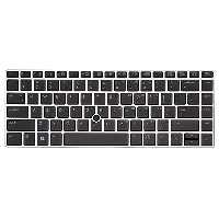 Hp Hp Backlit Keyboard Folio 9470m/9480m Belgian - W/ Pointing Stick 702843-a41 - xep01