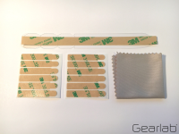 Gearlab Privacy Filter Mounting Kit Strips, Hangtaps and Cleaning GLBA00000001 - eet01