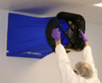 Airflow Volume Testing For Cleanrooms