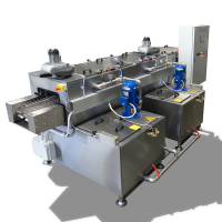 Multistage Metal Cleaning Machine