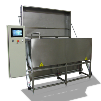 Metal Cleaning Machine With Mobile Nozzle For The Cosmetics Industry In Bedfordshire