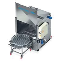 SIMPLEX BIG 1B Parts Washer For The Cosmetics Industry In Kent