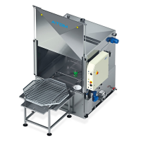 ATOM Electrical Part Washer For The Cosmetics Industry In Staffordshire