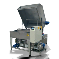 UNIX 2B Two Stage Washer For The Public Transport Sector In Staffordshire