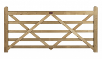 Wooden Gates Made For Country Estates