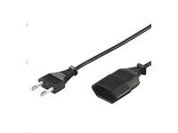 MicroConnect Power cable extension 5,0m Euro male to Euro female PE030850 - eet01
