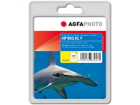 AgfaPhoto Ink Y, rpl HP No. 951 XL Y Yellow, Pages 1500, 25ml APHP951YXL - eet01