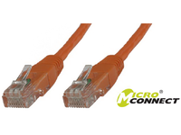MicroConnect U/UTP CAT6 3M Orange PVC Unshielded Network Cable, B-UTP603O - eet01