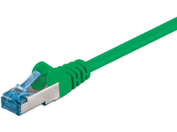 MicroConnect S/FTP CAT6A 5M Green LSZH PIMF( Pairs in metal foil) SFTP6A05G - eet01