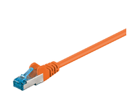 MicroConnect S/FTP CAT6A 0,5M Orange LSZH PIMF( Pairs in metal foil) SFTP6A005O - eet01