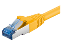 MicroConnect S/FTP CAT6A 5M Yellow LSZH PIMF( Pairs in metal foil) SFTP6A05Y - eet01