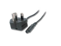 MicroConnect PowerCord UK- Notebook C7 3m Type G, BS 1363 - IEC 320 C7 PE090730 - eet01