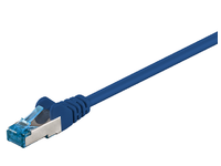 MicroConnect S/FTP CAT6A 0.25M Blue LSZH PIMF( Pairs in metal foil) SFTP6A0025B - eet01