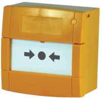 KAC Indoor manual call  point Yellow colour M3A-Y000SF-K013-11 - eet01
