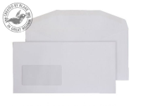 3604 Blake Purely Everyday White Window Gummed Mailer 114X229mm 110Gm2 Pack 1000 Code 3604 3P- 3604