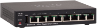 Cisco SB 8-Port Gigabit Smart Switch **New Retail** SG250-08-K9-EU - eet01