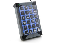 P.I. Engineering X-Keys Desktop USB 24 keys  XK-24-USB-R - eet01