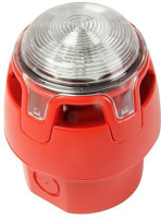 KAC ENScape Sounder Beacon Red body, Red LED EN54-23 CWSS-RR-W6 - eet01