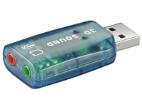 MicroConnect USB - Soundcard 2.0 Win2000, XP, Vista, Win 7. 68878 - eet01