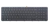 Hp Hp Dualpoint - Notebook Replacement Keyboard - Backlit - France - For Probook 650 G2  655 G2 841145-051 - xep01