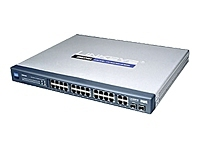 Cisco Sf 300-24 24-port 10/100 Switch - Pre-owned F/s Srw224g4-k9-uk - xep01