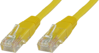 MicroConnect U/UTP CAT5e 15M Yellow PVC Unshielded Network Cable, UTP515Y - eet01