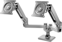 """Hp Hp Hot Desk 2nd Monitor Arm - Mounting Component (monitor Arm) For Lcd Display / Notebook - Screen Size: Up To 27"""" - For Hp 245 G7  340 G5; Elite X2; Elitebook X360; Mobile Thin Client Mt45; Zbook 15 G6  17 G6 W3z74aa - xep01"""