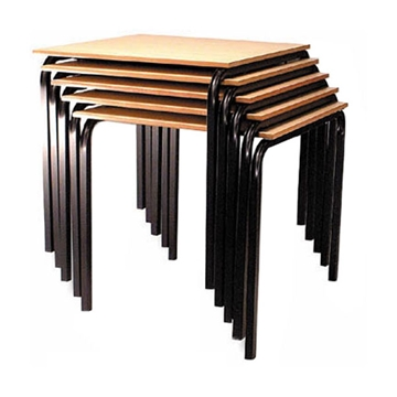 Heavy Duty Steel Frame Stacking Banquet Tables