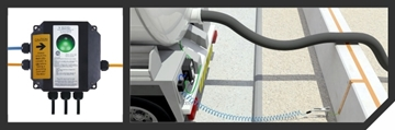 Food & Beverage Mobile Static Grounding System