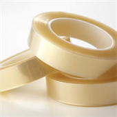 H132CL Clear Polyester Silicone Tape