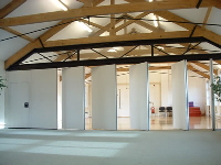 Acoustic Moveable Walls For Multi-Functional Spaces