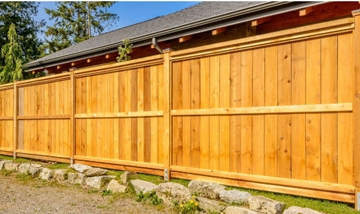 Timber Palisade Fencing Suppliers In Ware