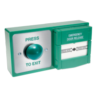 ASEC Combined Exit Button and Call Point