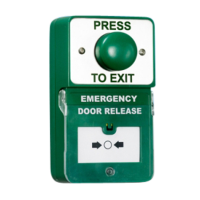 ASEC Dual Unit Combined Exit Button and Call Point